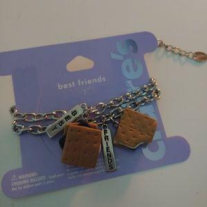 Best friend s'mores friendship bracelet